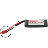 Team Orion LiPo 1300 3S 11.1V 50C JST