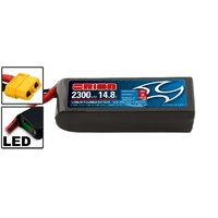 LiPo 2300mAh 4S 14.8V 55C (XT60) - Racing Drone Battery
