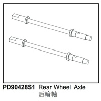 Rear Wheel Axle