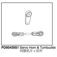 Servo Horn & Turnbuckle