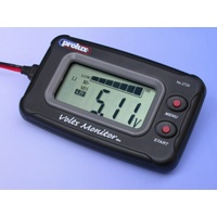 PROLUX 2720 DC 3.7V-20 V  LCD DISPLAY BATTERY CHECKER