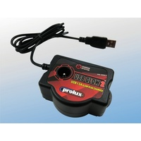 PROLUX USB 1.5 AMP GLOW PEAK CHARGER
