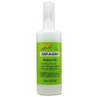 ZAP PT-05 4 OZ. GREEN ZAP-A-GAP CA+ 1 BOTTLE (BOX QTY 6)