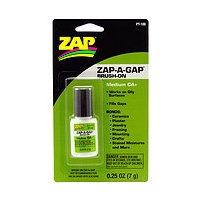 ZAP PT-100 1/4 OZ. GREEN BRUSH-ON ZAP-A-GAP (CARDED)