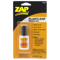 ZAP PT-102 1/4 OZ. BRUSH-ON PLASTI-ZAP (CARDED)