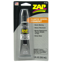 (DG) ZAP PT-104 1 OZ. ZAP PLASTIC MODEL CEMENT WITH TIP