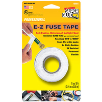 Super Glue E-Z Fuse Tape White 10 foot roll (12 PER PACK)