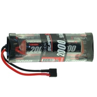 RADIENT SUPERPAX NIMH BATTERY SC 9.6V 8-CELL 2000MAH 6-2 HUMP PACK: DEANS