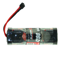 RADIENT SUPERPAX NIMH BATTERY SC 8.4V 7-CELL 4200MAH 6-1 HUMP PACK: DEANS