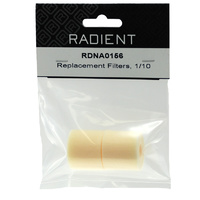 RADIENT REPLACEMENT FILTERS 1/10
