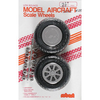 ROBART SCALE WHEELS: 2.50 INCH X-TREAD