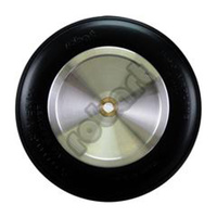 ROBART ALUMINUM WHEEL: 4 INCH NO SPOKE