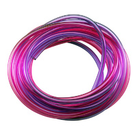 ROBART RED/PURPLE AIR TUBING: 5 FOOT EACH COLOUR