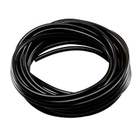 ROBART BLACK AIR LINE TUBING: 10 FOOT