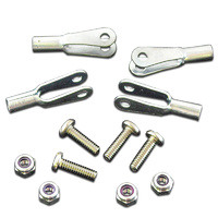 ROBART 2-56 CLEVIS ROD END KIT: 4 PIECES
