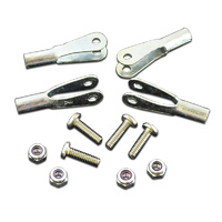 ROBART 4-40 CLEVIS ROD END KIT: 4 PIECES