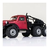 Roc Hobby Atllas 6x6 RTR 1/18 Scale Red