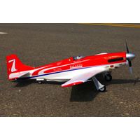 P-51 Strega 1100mm High Speed Red PNP