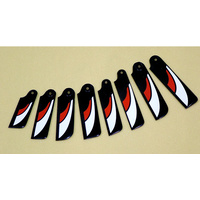 Tail Rotor Carbon Blades 95mm 60/90size
