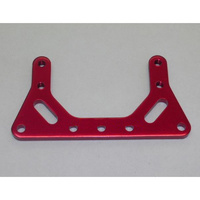 GV SEL3071RE FRONT MOTOR STEERING RADIO PLATE 3MM (RED COLOR)