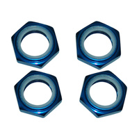 GV SEM106B WHEEL NUTS W/NYLON LOCK . BLUE (4PCS/SET)