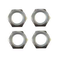 GV SEM106TA WHEEL NUTS W/NYLON LOCK - TITANIUM COLOUR