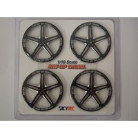 Set Up Wheel 1/10 (black)