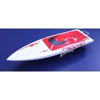 Rocket Electric Boat White hull w/2958