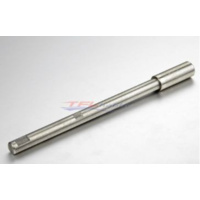 SS Drive Shaft W/O Screw thread, 6.35mm stainless L=110mm