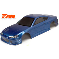 Body - 1/10 Touring / Drift - 190mm - Painted - no holes - S15 Dark Blue