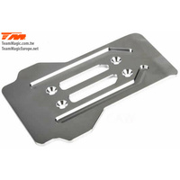 E6 CNC stainless chassis front guard
