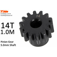 Pinoion gear M1 for 5mm shaft 14T