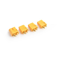 XT-60 Plug Female(Female bullet with male housing)4pcs/bag