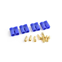 EC3 Plug Male(Male bullet with female housing) 4pcs/bag