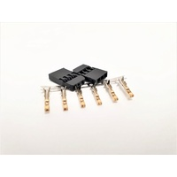 Futaba connector Male Gold plated terminals 2sets/bag