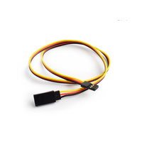 45cm 22AWG Hitec straight Extension wire