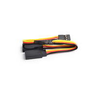 15cm 22AWG Hitec straight Y Extension wire