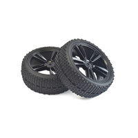 Tornado RC Front Tires and Rims For Buggy