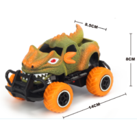 1:43 mini off-road graffito monster Orange RTR car  Body, (Requires AA Batteries)