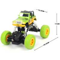 1:22 4WD graffito Jeep climber Green