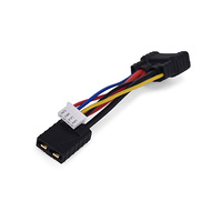 TRX ID Compatible LiPo Battery Adapter with 2S/ 3S Balance Port - 5cm 14 AWG silicone wire /22AWG pvc wire