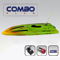Thunder Tiger Outlaw JR Brushless Boat Green (No Radio & RX)
