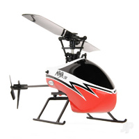 Twister Ninja 250 Red Flybarless Helicopter 6 Axis Stabilization & Altitude Hold