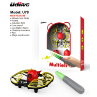 UDIRC U70 Gesture & wand control drone , Cast takeoff , Rotate , Obstacle avoidance , altitude hold & low battery alarm (24 per outer carton)