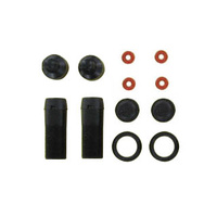 GV V213802BL V2 SHOCK BODY <L=22.6MM> (BLACK COLOR. 2PCS)
