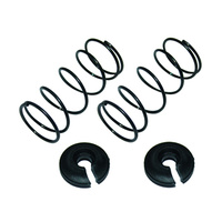 GV V21383BA V2   SHOCK   SPRING   (2)   1.1MM   BLACK  <L=35.5>