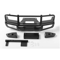 Trifecta Front Bumper for Land Cruiser LC70 Body (Black)