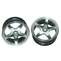 GV VX3702GA FIVE STAR SILVER RIMS