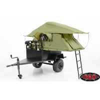 RC4WD Bivouac 1/10 M.O.A.B Camping Trailer w/Tent