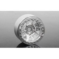 "RC4WD Dirty Life RoadKill 1.7"" Beadlock Wheels (Silver)"